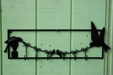 Bird Multi Hook Wall Decor